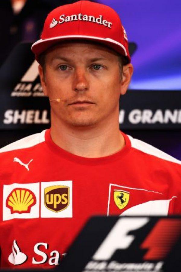 4. Kimi Raikkonen (Ferrari): 20 millones de dólares. Foto:Getty Images