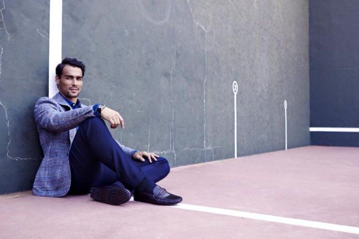 """Está lejos de los primeros lugares en el ranking ATP (32), pero en """"sex appeal"""" fue el cuarto preferido por las aficionadas. Foto:Vía facebook.com/benoit.paire.52"""