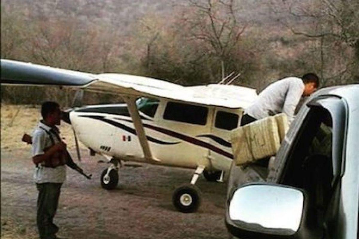 Así como avionetas para transportar droga Foto:Instagram.com/explore/tags/narco/