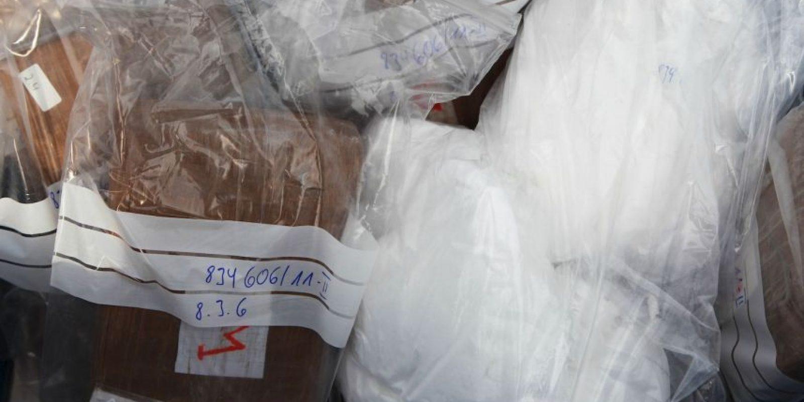 3. La cocaína es manipulada para que pierda su olor y color. Foto:Getty Images