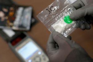5. Luego de la manipulación la droga parece caucho. Foto:Getty Images