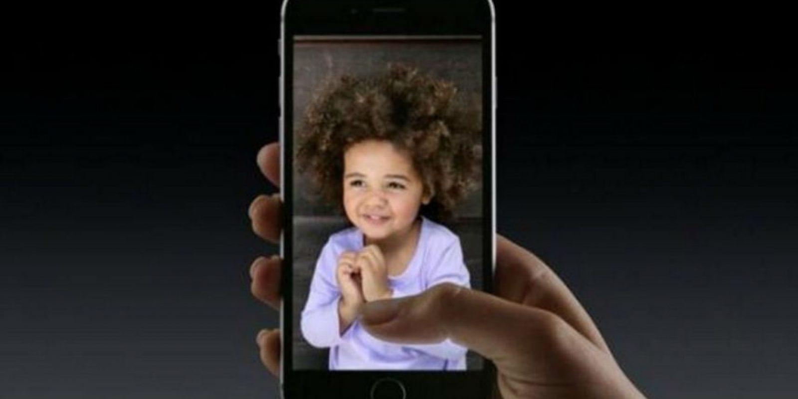 """""""Live Photos"""" estará disponible en los nuevos iPhones. Foto:Apple"""