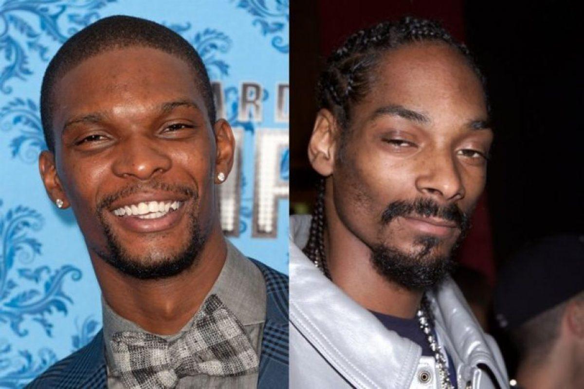 Chirs Bosh y Snoop Dogg Foto:Twitter