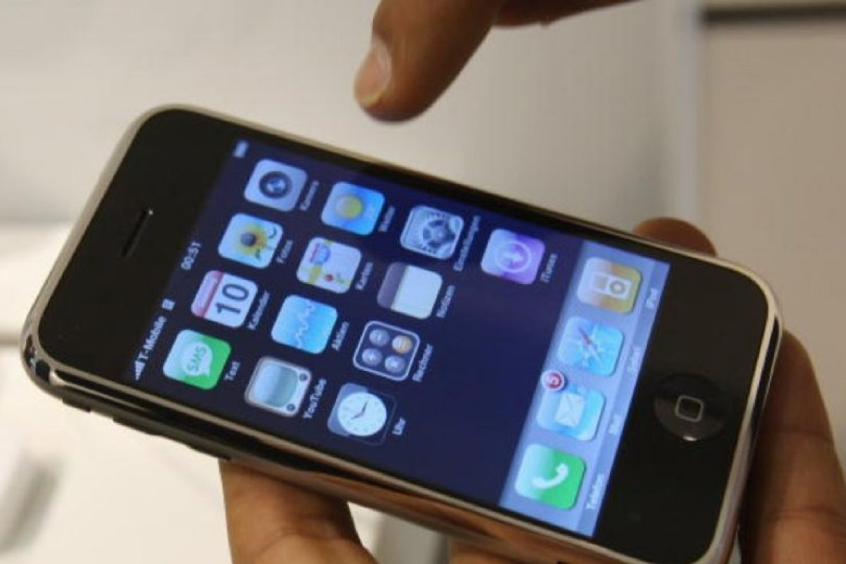iPhone (2007) Foto:Getty Images