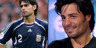 El exfutbolista argentino Roberto Ayala y Chayanne Foto:Twitter