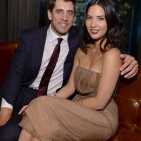 13. Olivia Munn (Aaron Rodgers/ Green Bay Packers) Foto:Getty Images