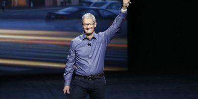 Tim Cook, CEO de Apple, estuvo en el Bill Graham Civic Auditorium. Foto:Getty Images