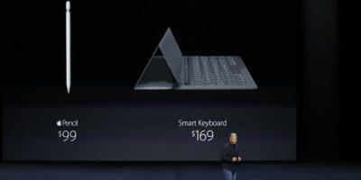 Precios de Apple Pencil y Smart Keyboard. Foto:Getty Images