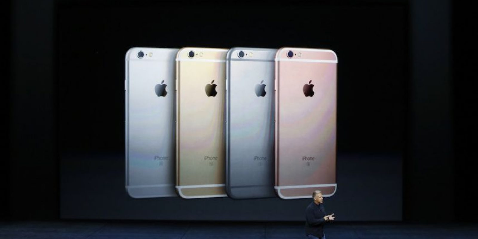 Apareció el iPhone 6s y iPhone 6s Plus. Foto: Getty Images