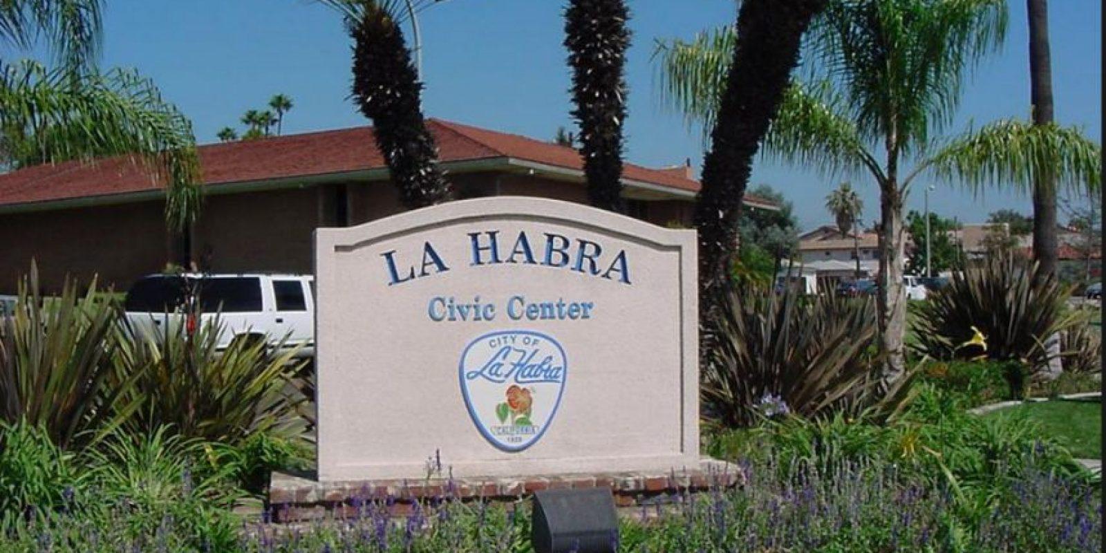 Esto ocurrió en la ciudad La Habra del estado de California Foto:Vía lahabracity.com