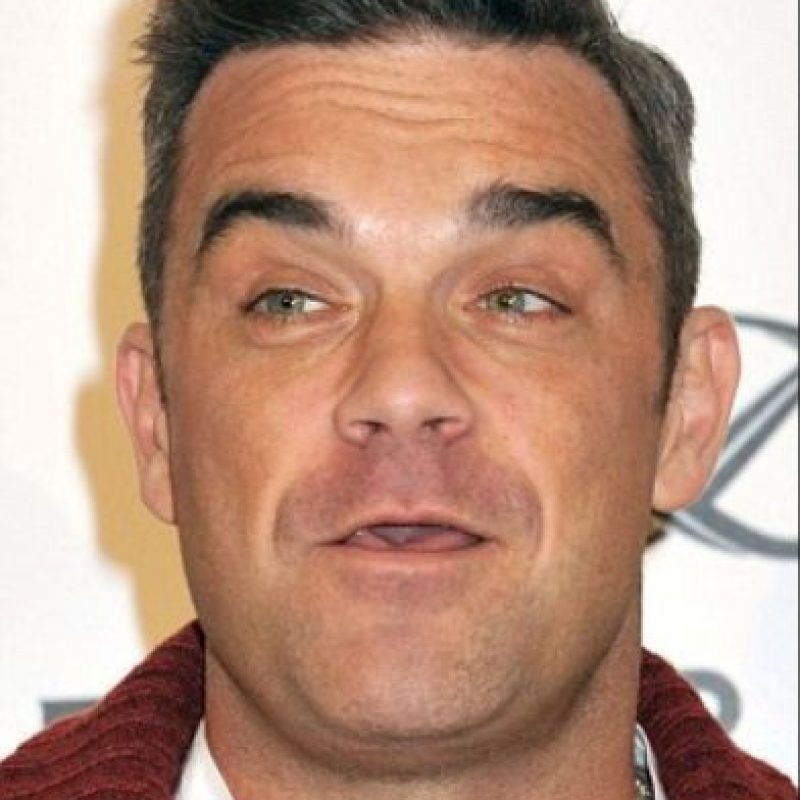 Es parecido a Robbie Williams Foto: Getty Images