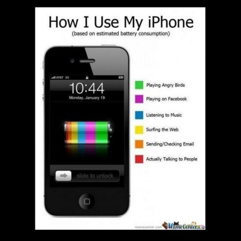 Cómo usar su iPhone Foto:Twitter