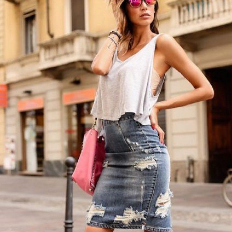 Comenzó en el modelaje a los 18 años. Foto:Vía instagram.com/melissasatta