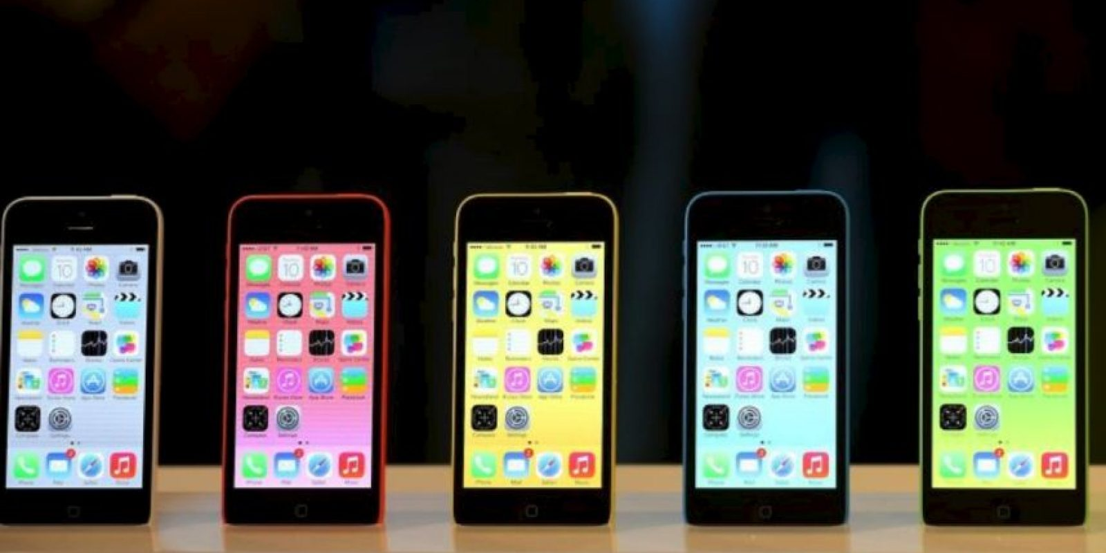 iPhone 5c (2013) Foto: Getty Images