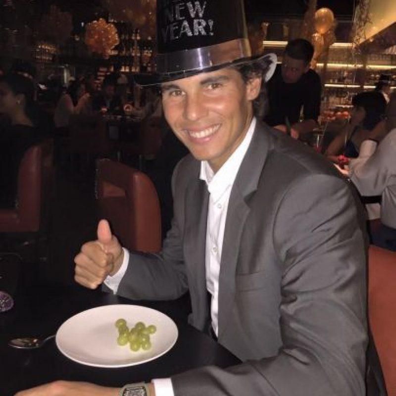 Tiene 14 títulos de Grand Slam. Foto:Vía facebook.com/RafaNadal