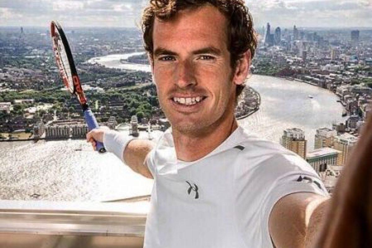 Murray es el número 3 del mundo y entre sus logros destacan dos Grand Slam y una medalla de oro olímpica (Londres 2012). Foto:Vía facebook.com/andymurrayofficial