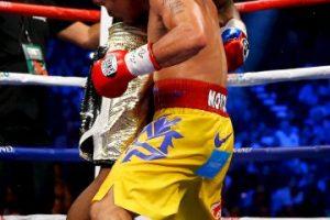 """En ventas de """"Pago por Evento (PPV)"""", la llamada """"Pelea del Siglo"""" superó al anterior combate que era el que más ganancias había recaudado: Mayweather vs. De la Hoya, con 2.48 millones de permisos para ver el duelo. Foto:Getty Images"""