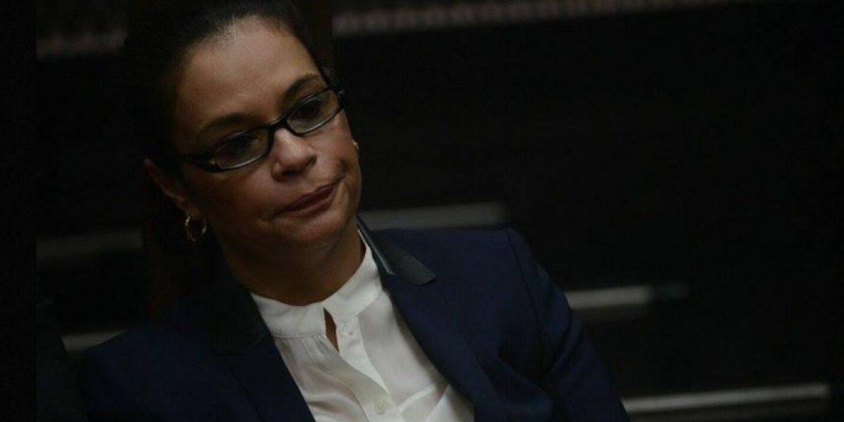 Video. Supuestos privilegios de exvicepresidenta Roxana Baldetti causan polémica
