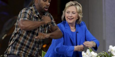 Bill Clinton declaró que necesitaba practicar un poco. Foto:AP