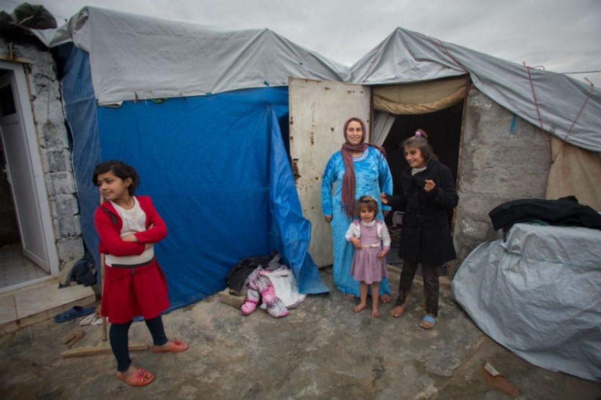 """""""No estoy enojada con Dios por nuestra huida de Qaraqosh. Yo le agradezco porque se ocupó de nosotros"""". Foto:Getty Images"""