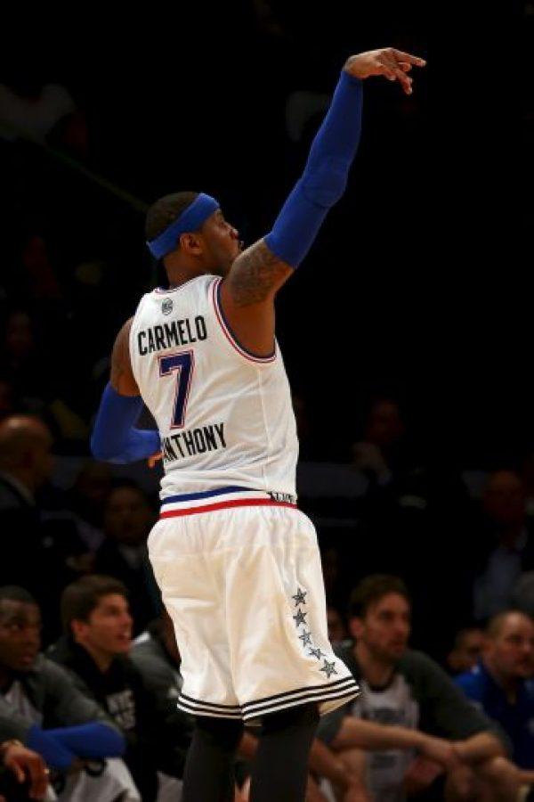 Es la estrella de los New York Knicks Foto:Getty Images