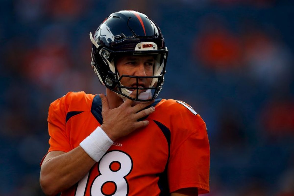 El veterano quarterback de Denver Broncos estaría viviendo los últimos minutos de su trayectoria, a sus 39 años Foto:Getty Images