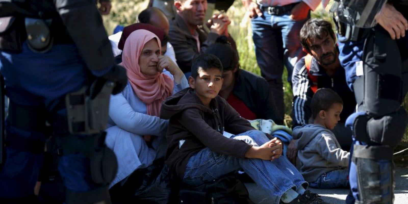 """Tanto los gobiernos europeos como los ciudadanos coinciden en la crisis de migración de estos momentos es una de las peores que han azotado al """"Viejo continnte"""" en los últimos años. Foto:Getty Images"""