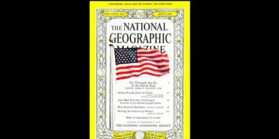 Julio 1959. Esta fue la primera fotografía que apareció en la revista después de 70 años de su fundación en 1888. Foto:Vía nationalgeographic.com