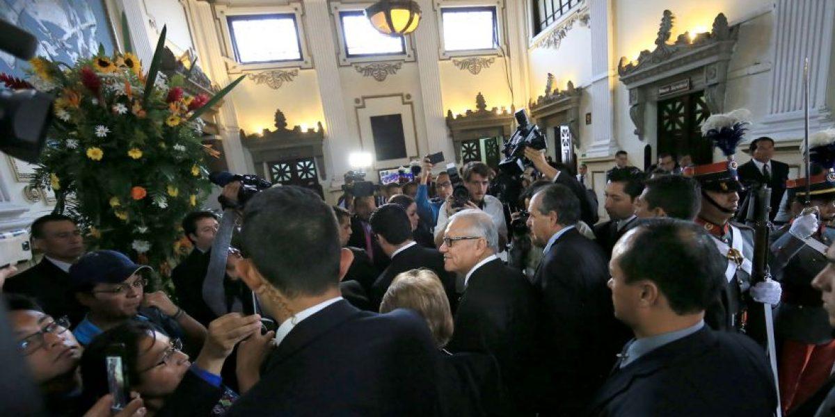 Presidente Alejandro Maldonado reitera los cambios en el gabinete