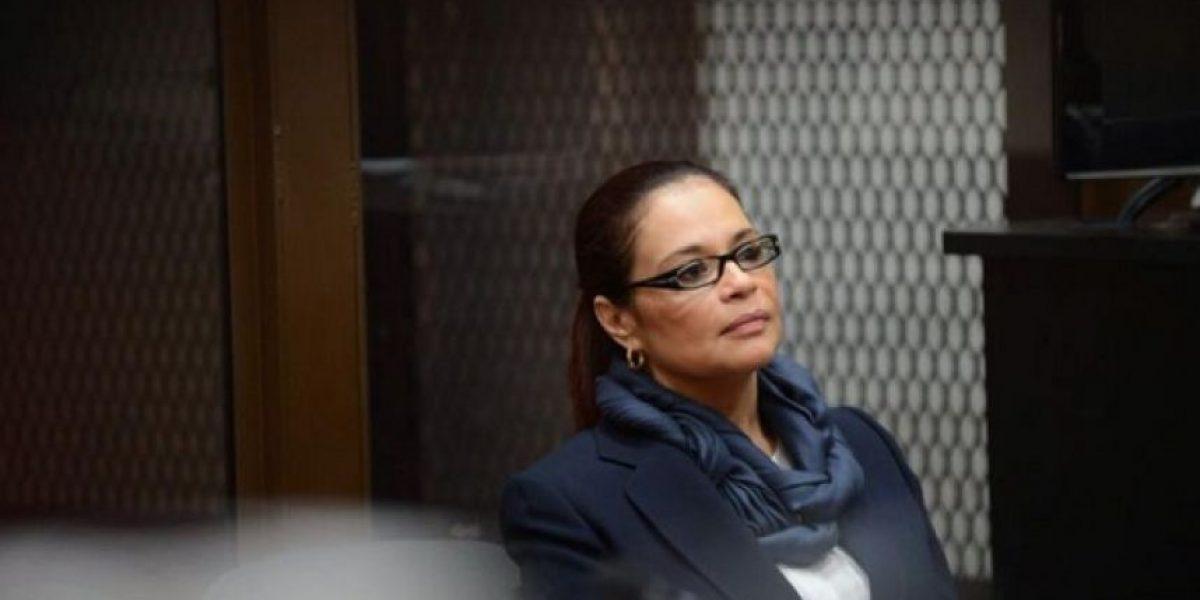 Juez ordena traslado de Roxana Baldetti a Hospital Militar