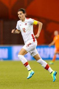 Es la capitana de la Selección de Canadá Foto:Getty Images