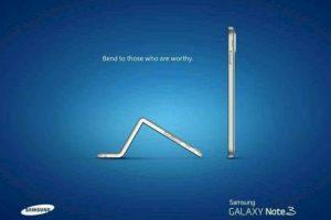 #Bendgate Foto:Samsung