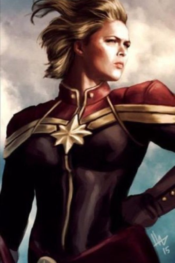 Ms. Marvel o Captain Marvel Foto: Twitter