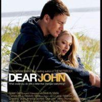 """""""Dear John"""" (2010) es una adaptación de la novela de Nicholas Sparks (autor de """"The Notebook""""). Dirigida por Lasse Hallstrom y protagonizada por Channing Tatum y Amanda Seyfried Foto:Impawards.com"""