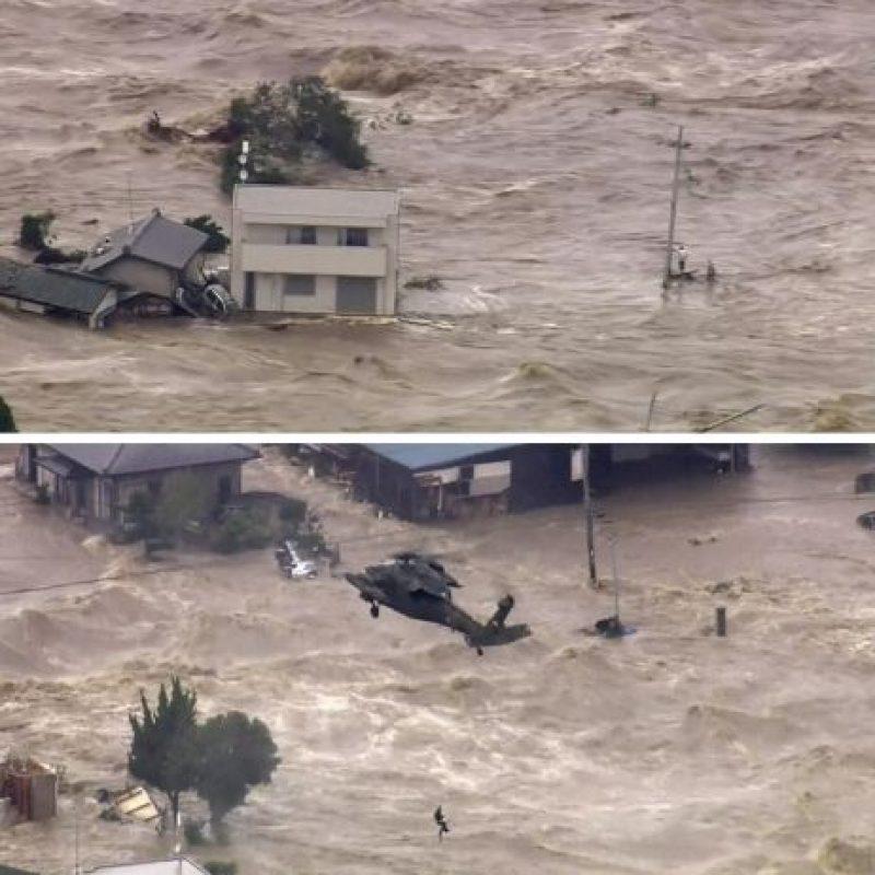 Son la peores lluvias en 50 años Foto:AP