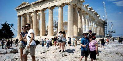 Acrópolis de Atenas Foto:Getty Images