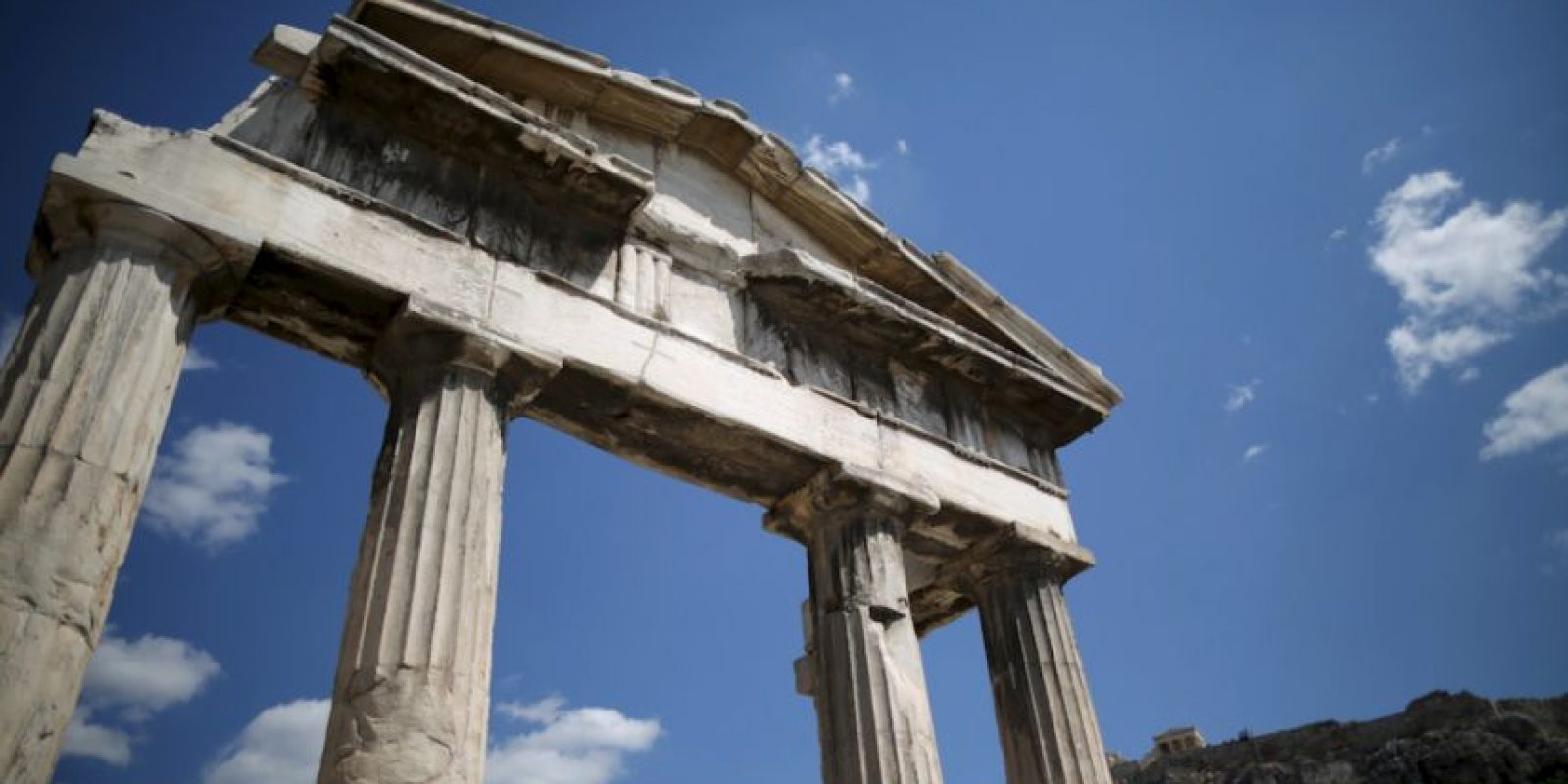 Se encuentra en Atenas, Grecia, y alcanza los 156 metros sobre el nivel del mar. En ella se localiza el histórico Partenón Foto:Getty Images