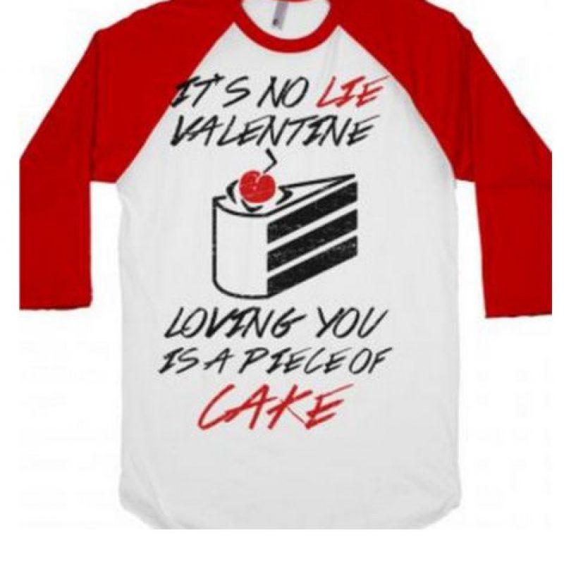 """""""Esta no es una mentira de San Valentín para amarte, es un pedazo de pastel"""" Foto:Vía """"gameinformer.com"""""""