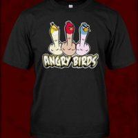 """Grosera versión de """"Angry Birds"""" Foto:Vía """"gameinformer.com"""""""