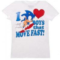 """""""Amo a los chicos que se mueven rápido"""". Con la imagen de Sonic, el erizo Foto:Vía """"gameinformer.com"""""""
