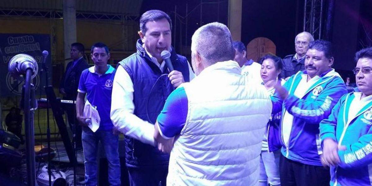 Excandidato Luis Fernando Pérez niega reuniones con aspirantes a la presidencia