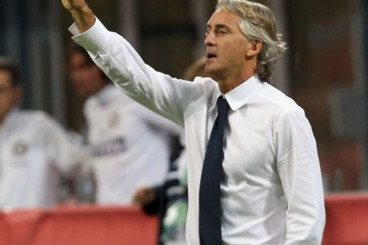 Roberto Mancini es el DT del Inter Foto: Getty Images