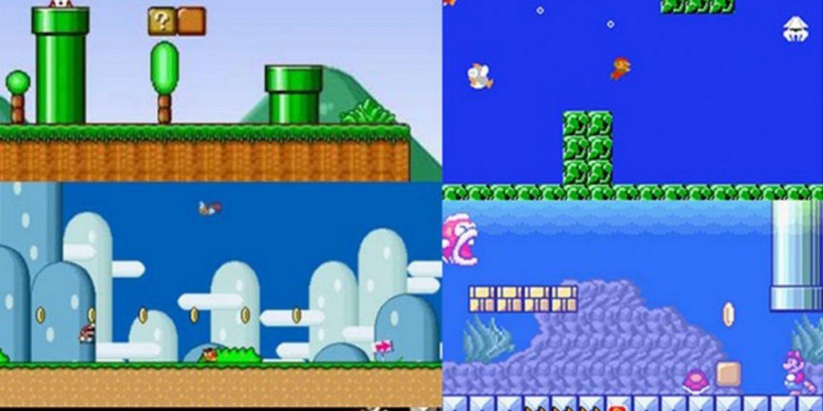 4. Variedad de escenarios y criaturas en cada nivel del juego Foto:Nintendo