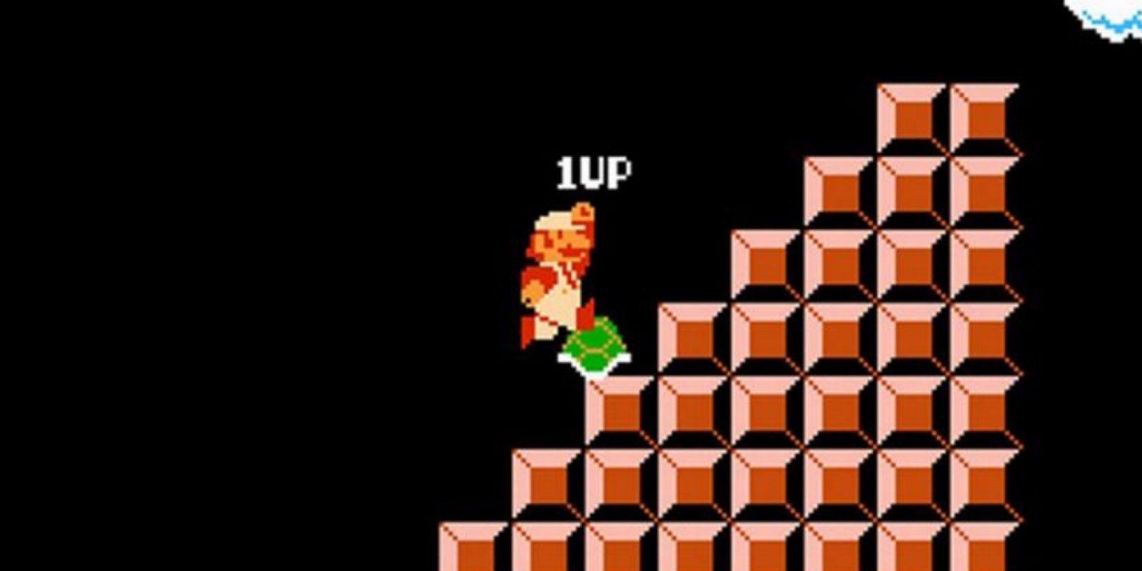 5. Los trucos y errores de los videojuegos fueron parte del culto alrededor del personaje, como por ejemplo, obtener vidas infinitas Foto:Nintendo