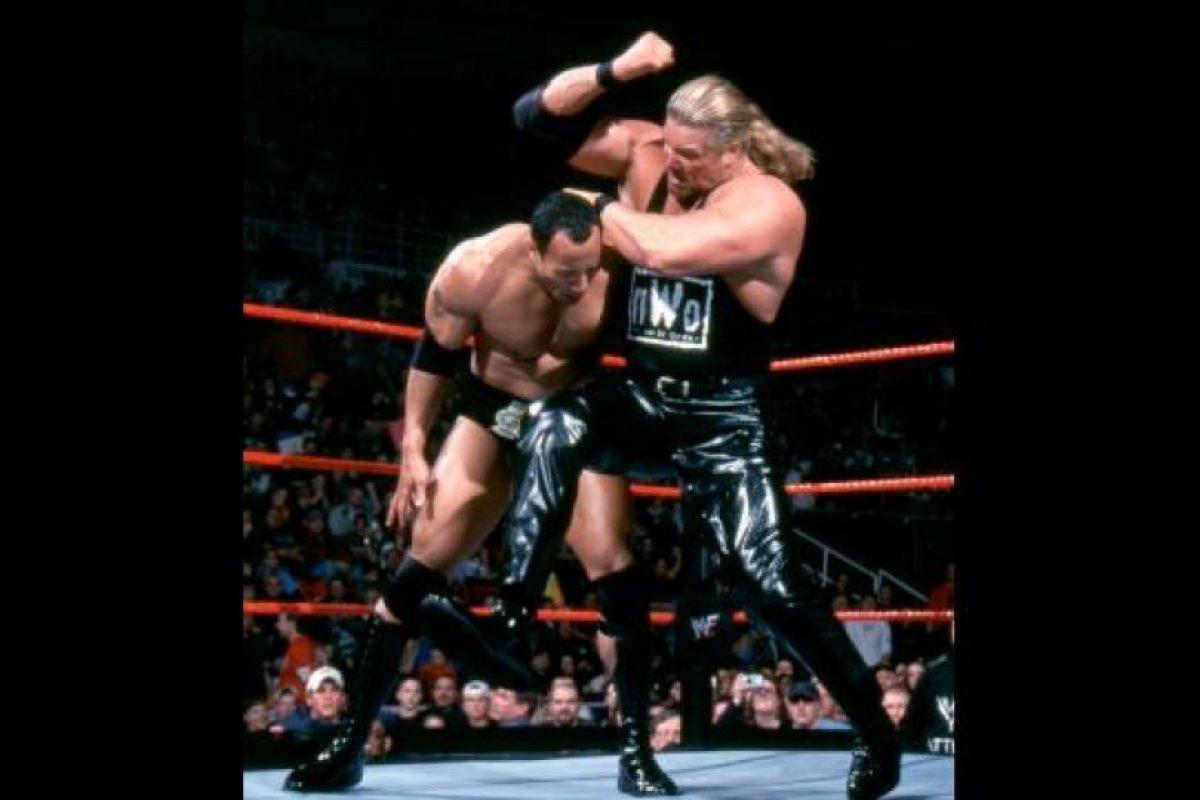 Formó parte del grupo NWO, junto a Hulk Hogan y Scott Hall Foto:WWE