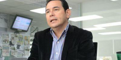 Esto responde Jimmy Morales a los comentarios que ha hecho la candidata de la UNE