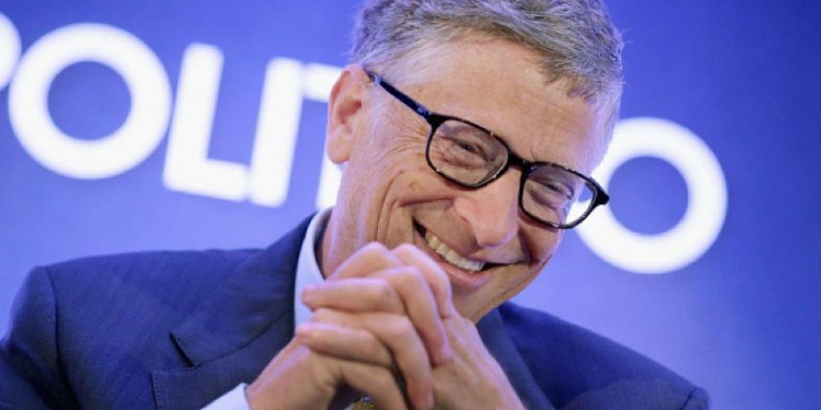 Bil Gates, fundador de Microsoft. Foto:Getty Images