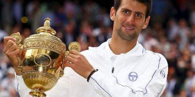 3. Wimbledon (2011). Derrotó a Rafael Nadal 6–4, 6–1, 1–6, 6–3. Foto:Getty Images
