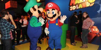 Mario y Luigi no tienen apellido. Foto:Getty Images