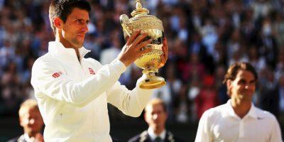 7. Wimbledon (2014). Venció a Roger Federer 6–7(7–9), 6–4, 7–6(7–4), 5–7, 6–4. Foto:Getty Images